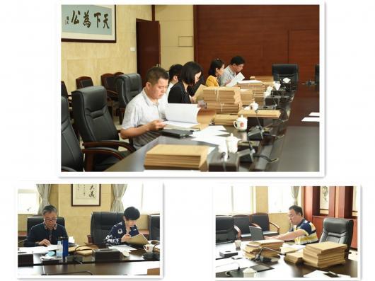 市中院案件评查组到我院开展案件评查工作.JPG